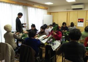 12/28 フラワーアレンジメント講習会・葬儀セミナー開催!(^^)!
