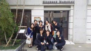 4/21 GEORGES MARCEAU 褒賞ランチ